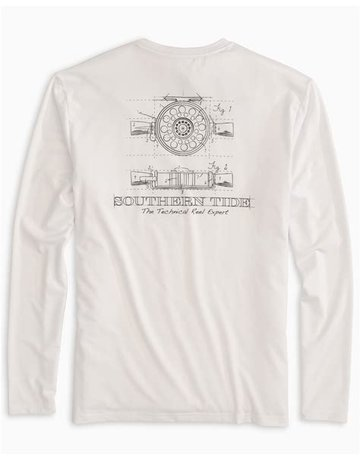 Southern Tide M LS Technical Reel Expert Perf Tee
