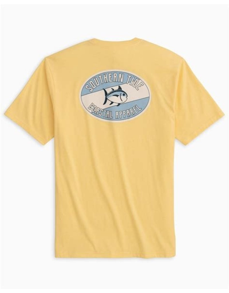 Southern Tide SS Weathered Label Heather Tee