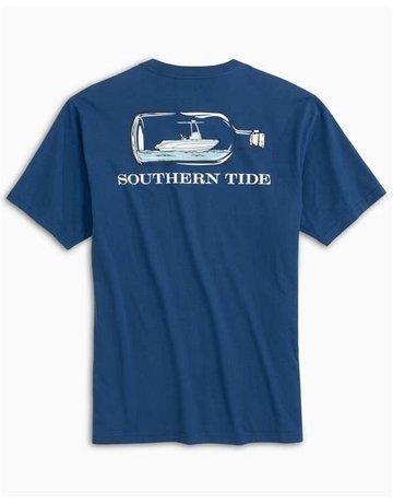 Southern Tide SS Boat In a Bottle Tee