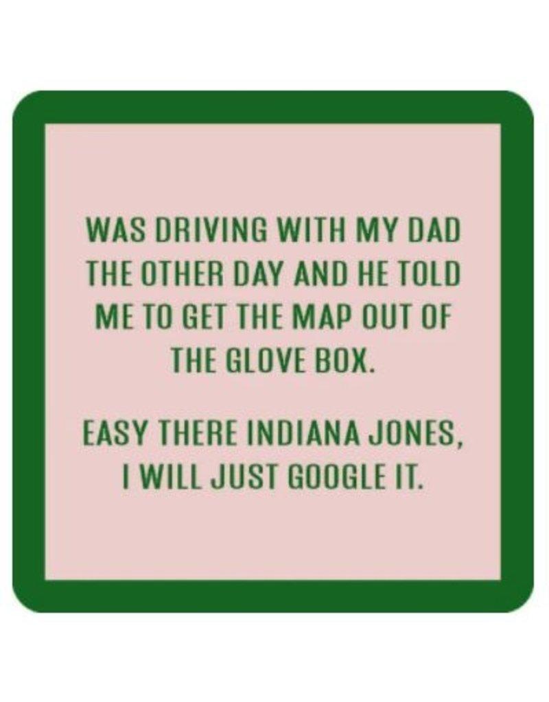 Iamtra/ Drinks on Me Coasters Indiana Jones Coaster