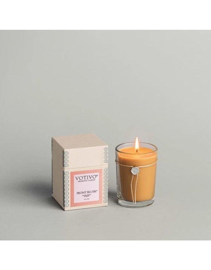Votivo 6.8oz Peony Blush Candle