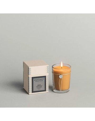 Votivo Grey Vetiver Aromatic Candle