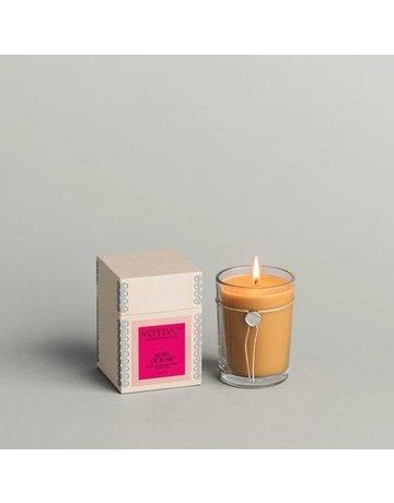 Votivo 6.8 oz Rush of Rose Candle