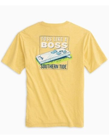 Southern Tide M SS Toss Like a Boss