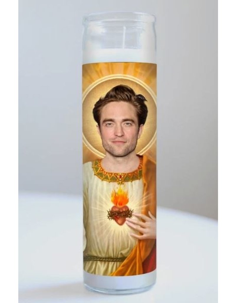 Illuminidol Saint Robert Pattinson Prayer Candle