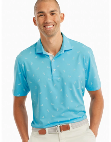 Johnnie-O Performance Jersey Polo- Bengi Print