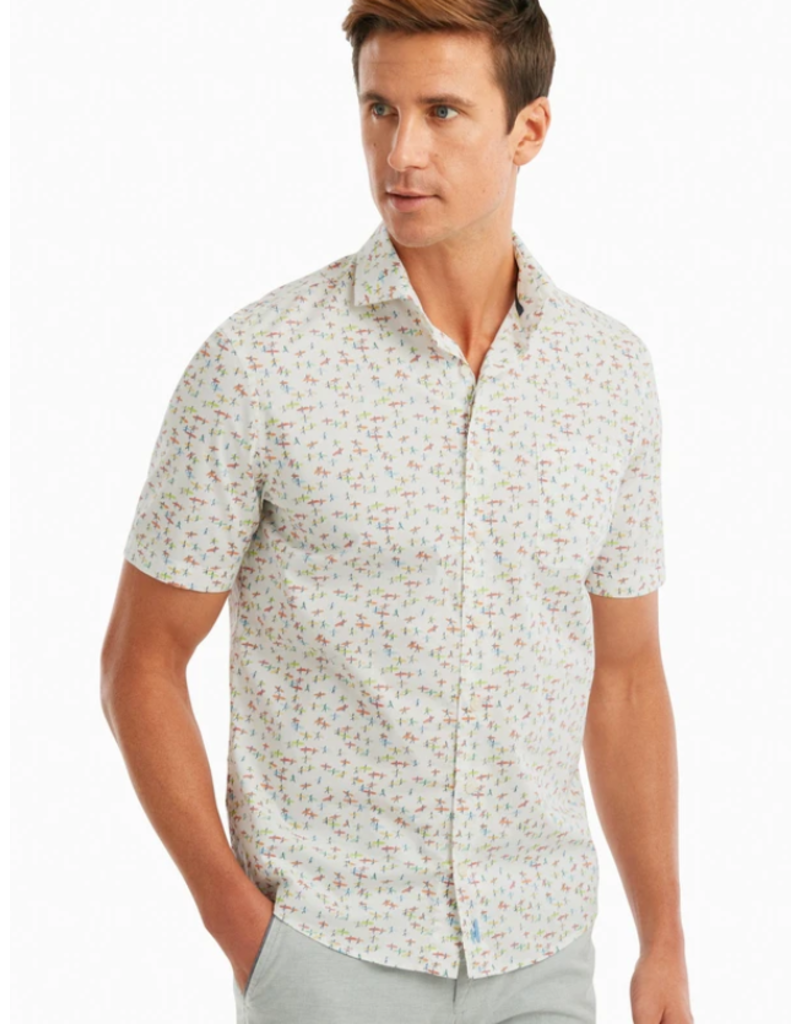 Johnnie-O Printed Hangin Out Short Sleeve Shirt