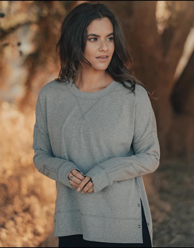 The Normal Brand Puremeso Split Side Over Shirt