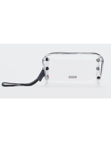 Hammitt Make Up Bag Clear Black