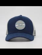 The Normal Brand No Boundaries Tall Trucker Cap- Mineral Blue