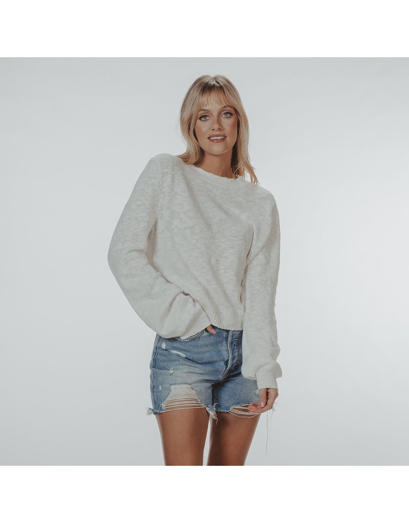 The Normal Brand Paige Bell Sleeve Sweater
