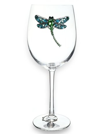The Queen Jewels Dragonfly Stemmed