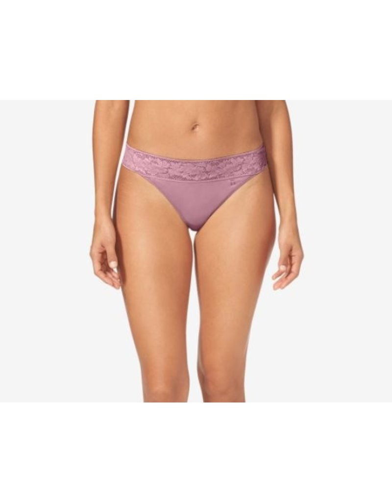 Tommy John Second Skin Lace Waistband Thong