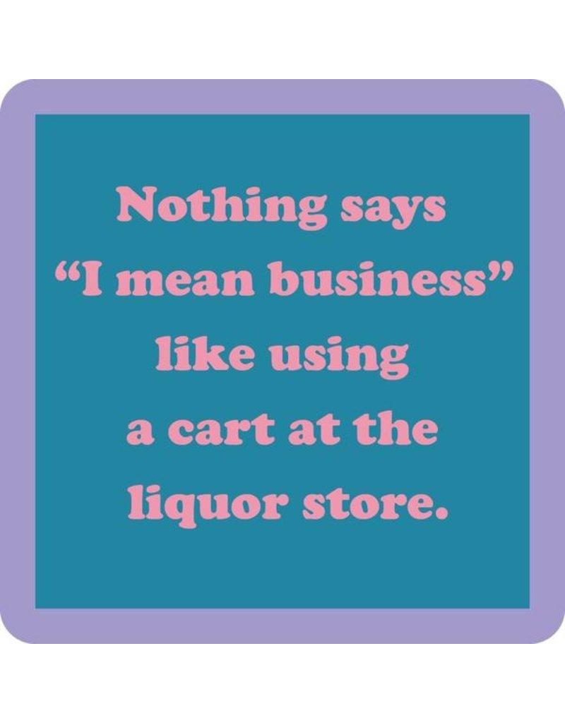 Iamtra/ Drinks on Me Coasters Cart Coaster