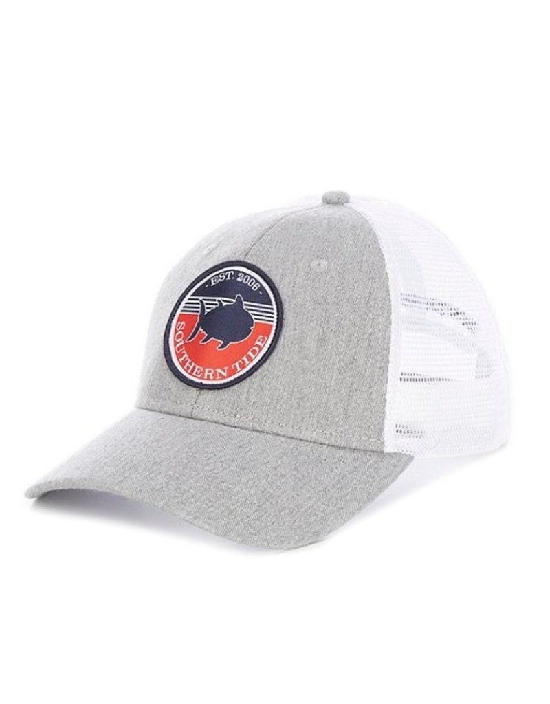 Southern Tide Mens Freedom Ring Patch Trucker Hat