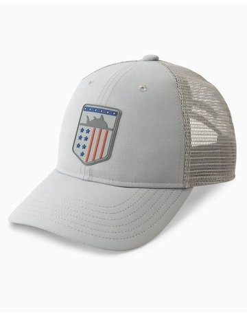 Southern Tide Mens Performance USA Trucker Hat