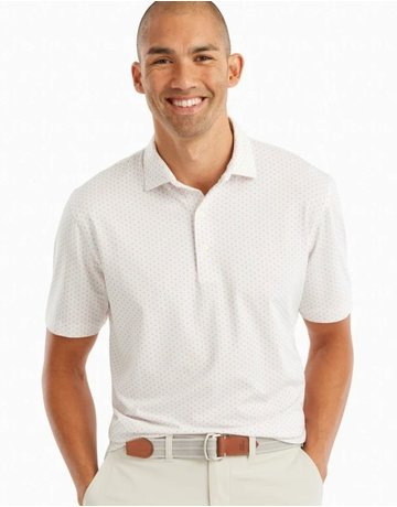 Johnnie-O Performance Jersey Polo- Kent Print