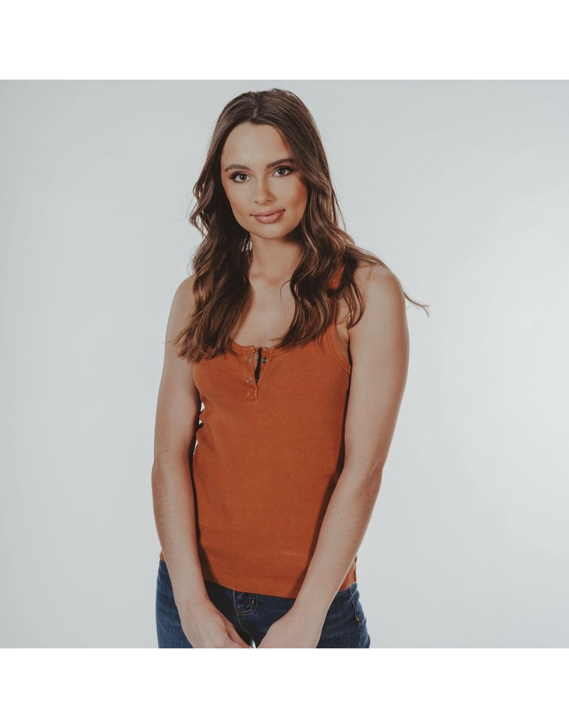 The Normal Brand Two-Button Snap Tank