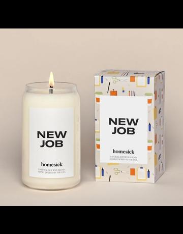 homesick New Job Candle
