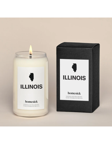 homesick Illinois Candle