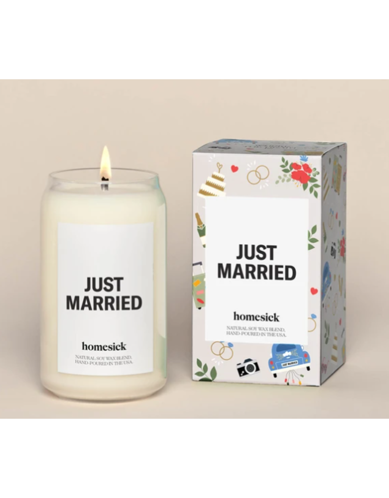 homesick Just Married Candle