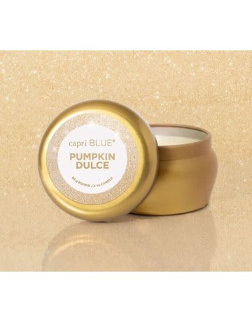 Capri Blue 3 oz. Glimmer Mini Tin- Pumpkin Dulce