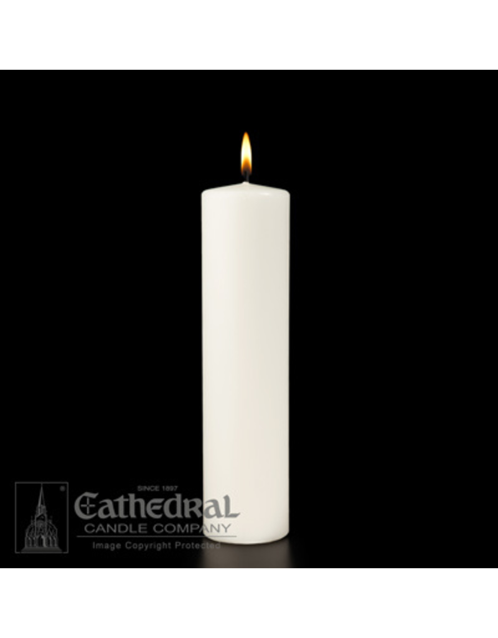 Christ Candle 3x8
