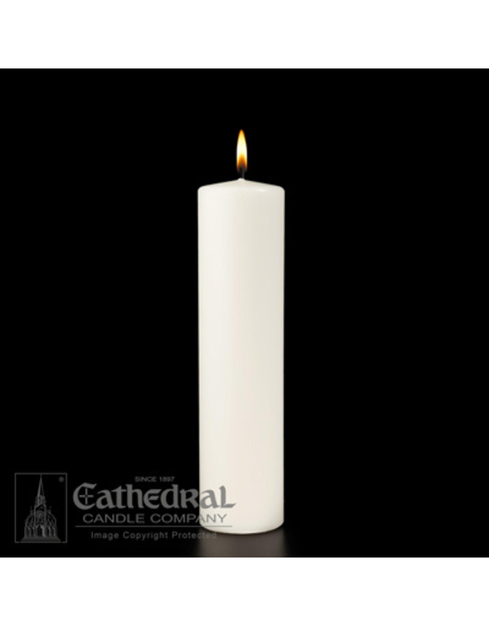 CNDL CHRIST 3X12 WHITE PLN