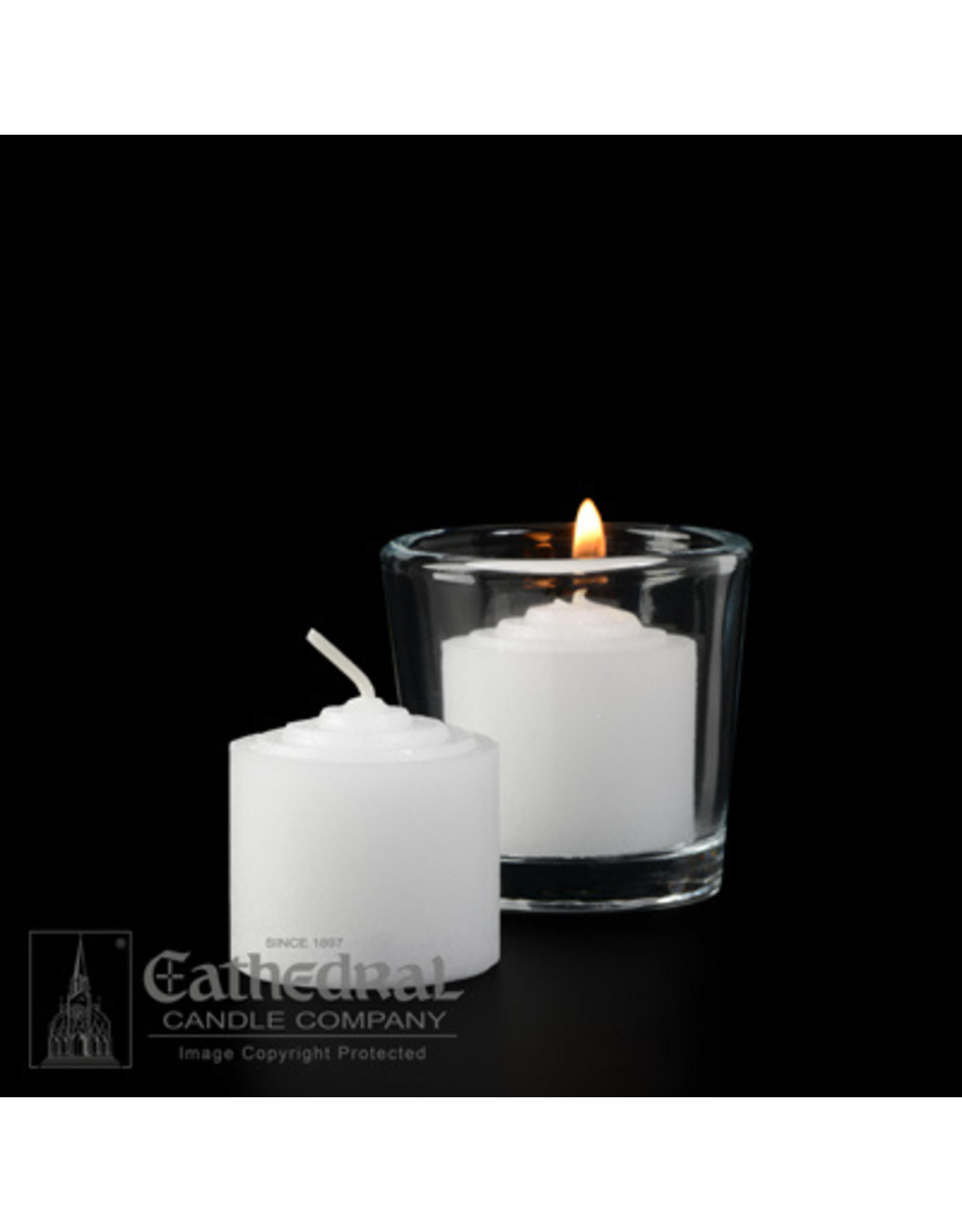 8-Hour Votive Candles (Box of 144)
