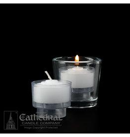4-Hour Crystal Votive ez-Lite Candles (Case of 2 Boxes)