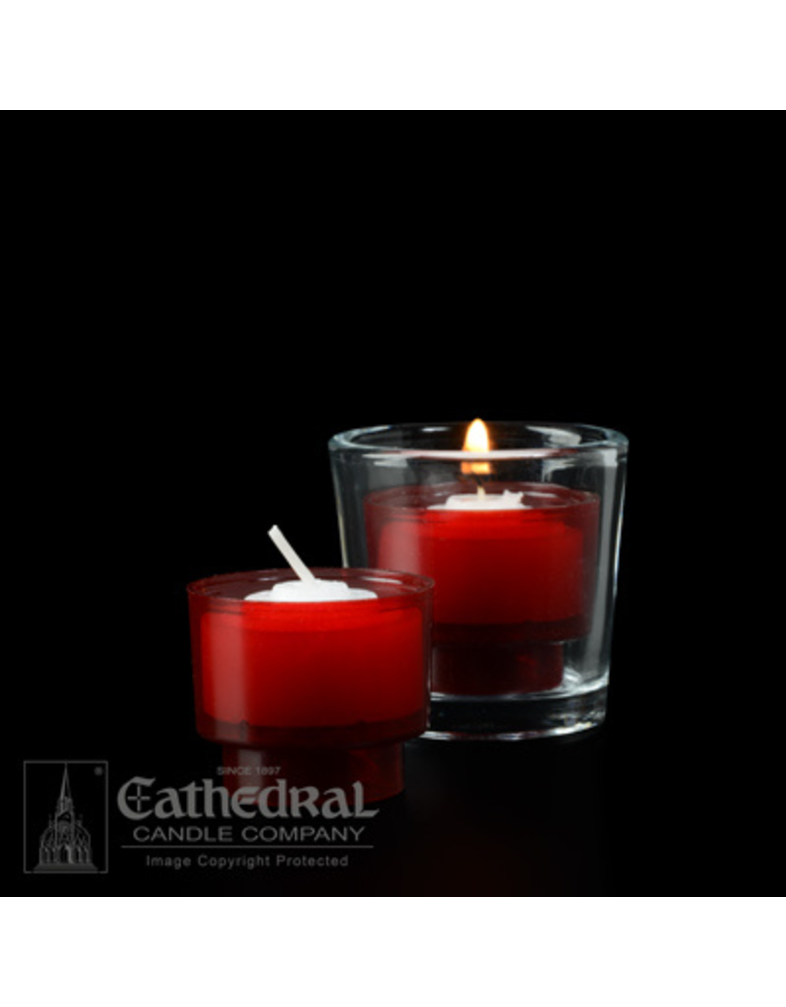 4-Hour Ruby Votive ez-Lite Candles (2 Gross)