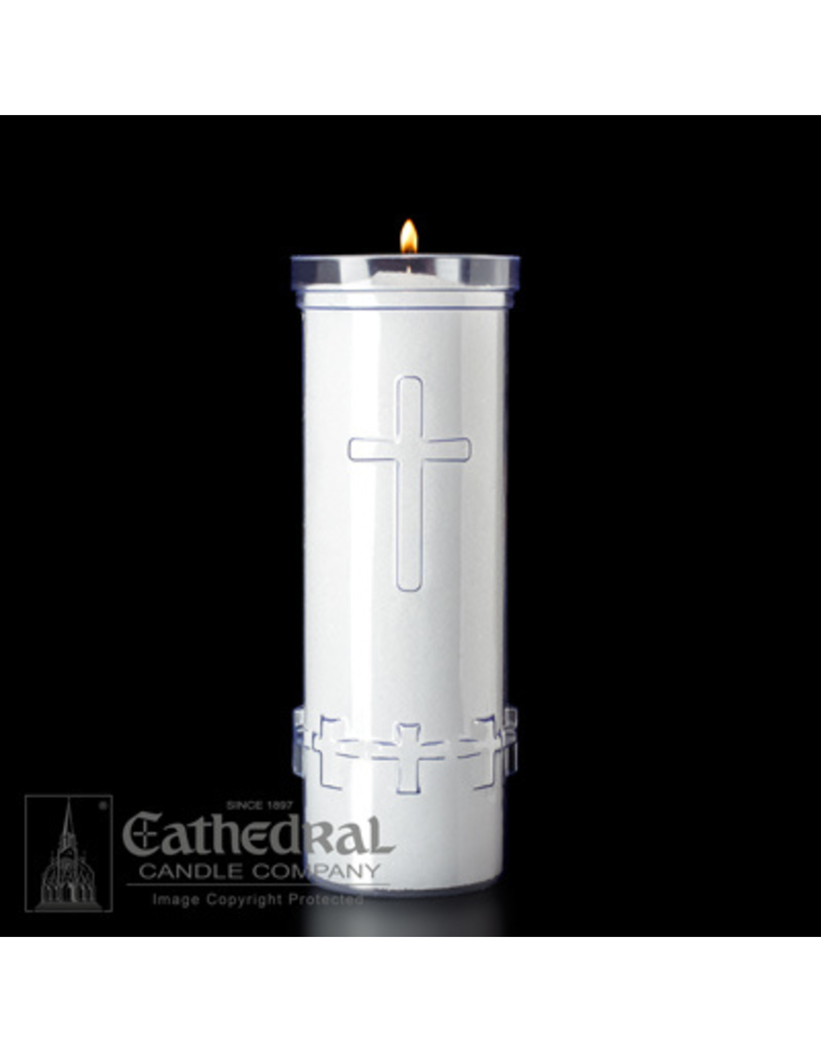 7-Day Plastic Divine Presence Candles (24)