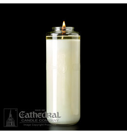 8-Day 100% Beeswax Glass Candle (Each)