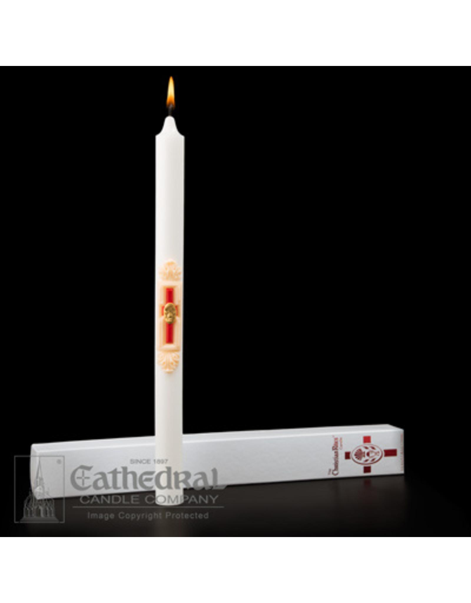 RCIA Christian Rites Candle 1.25x17