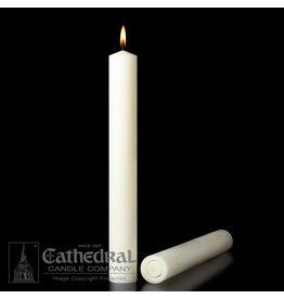 "51% Beeswax Altar Candles 2""x12"" APE (6)"