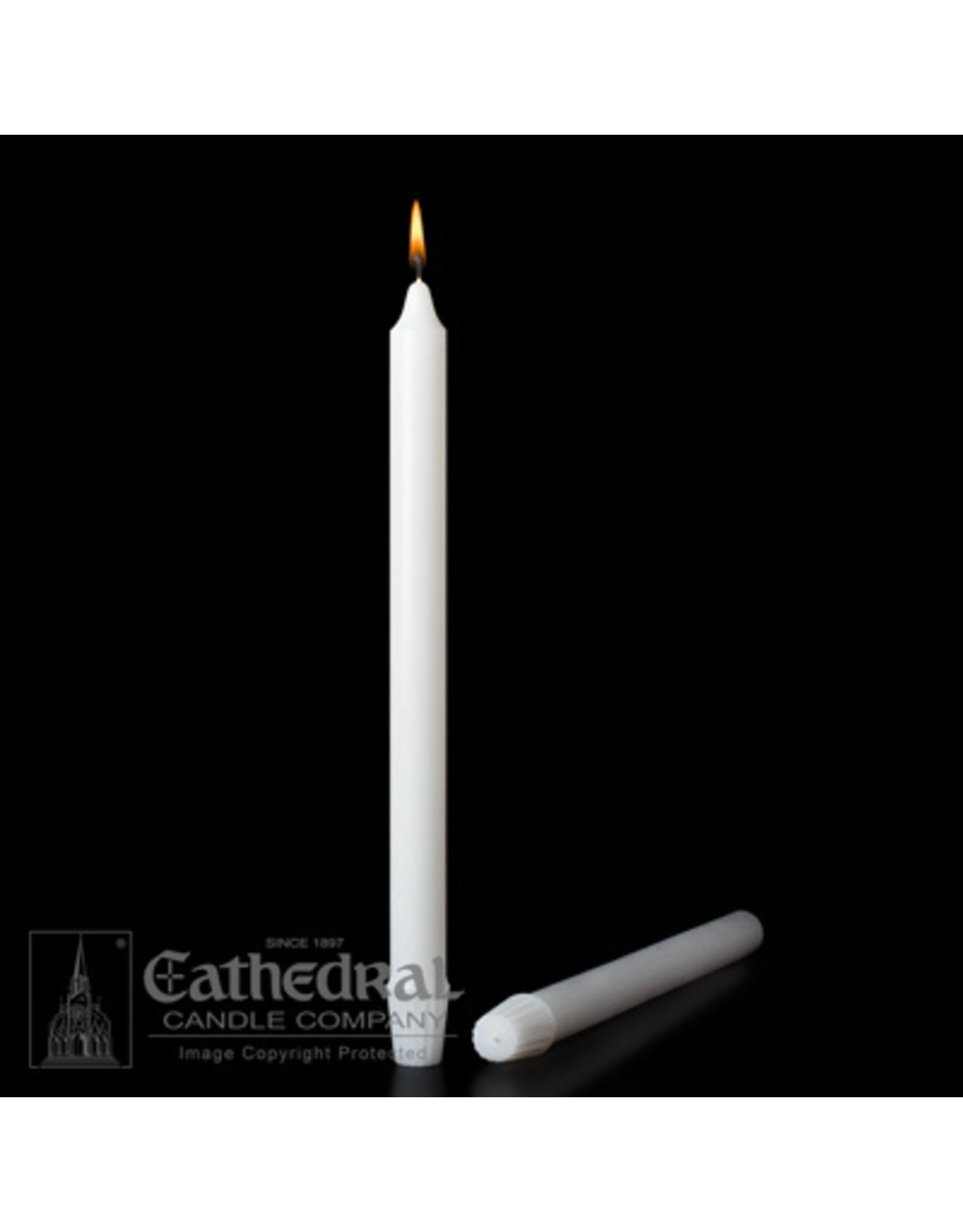 "Stearine Altar Candles 1-1/8""x15"" (12)"