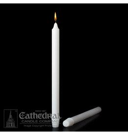 "Stearine Altar Candles 1-1/8""x15"" SFE (12)"