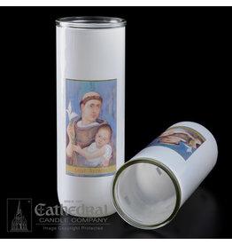 5, 6, 7-Day Glass Globe - St. Anthony