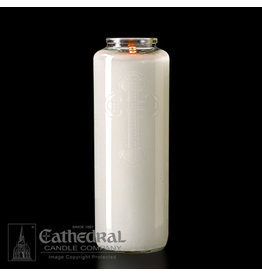 6-Day Clear Glass Candle