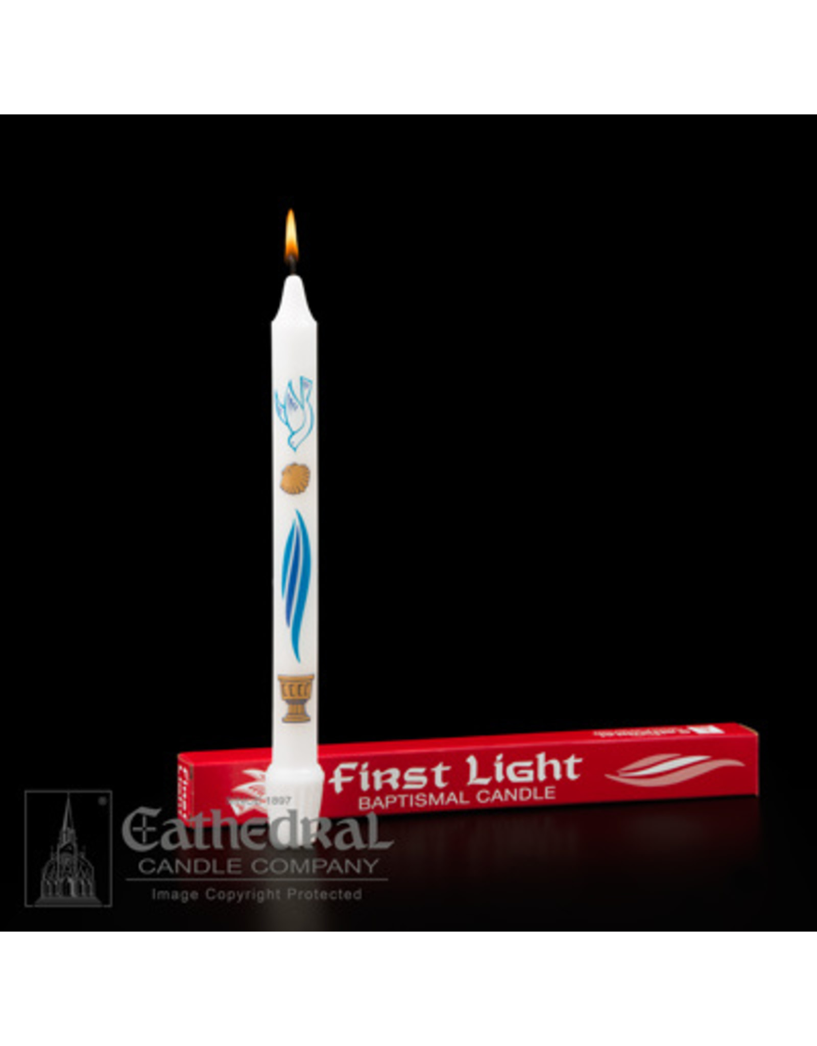 Baptism Candle 1st Light