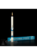 Baptism Candle 51% Beeswax