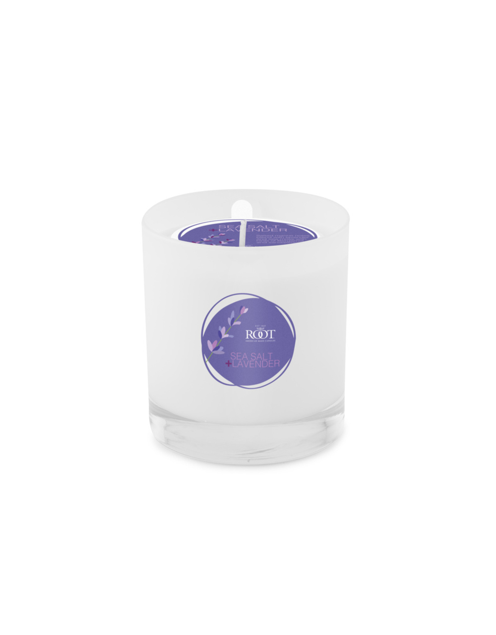 Root Candle - Sea Salt/Lavender