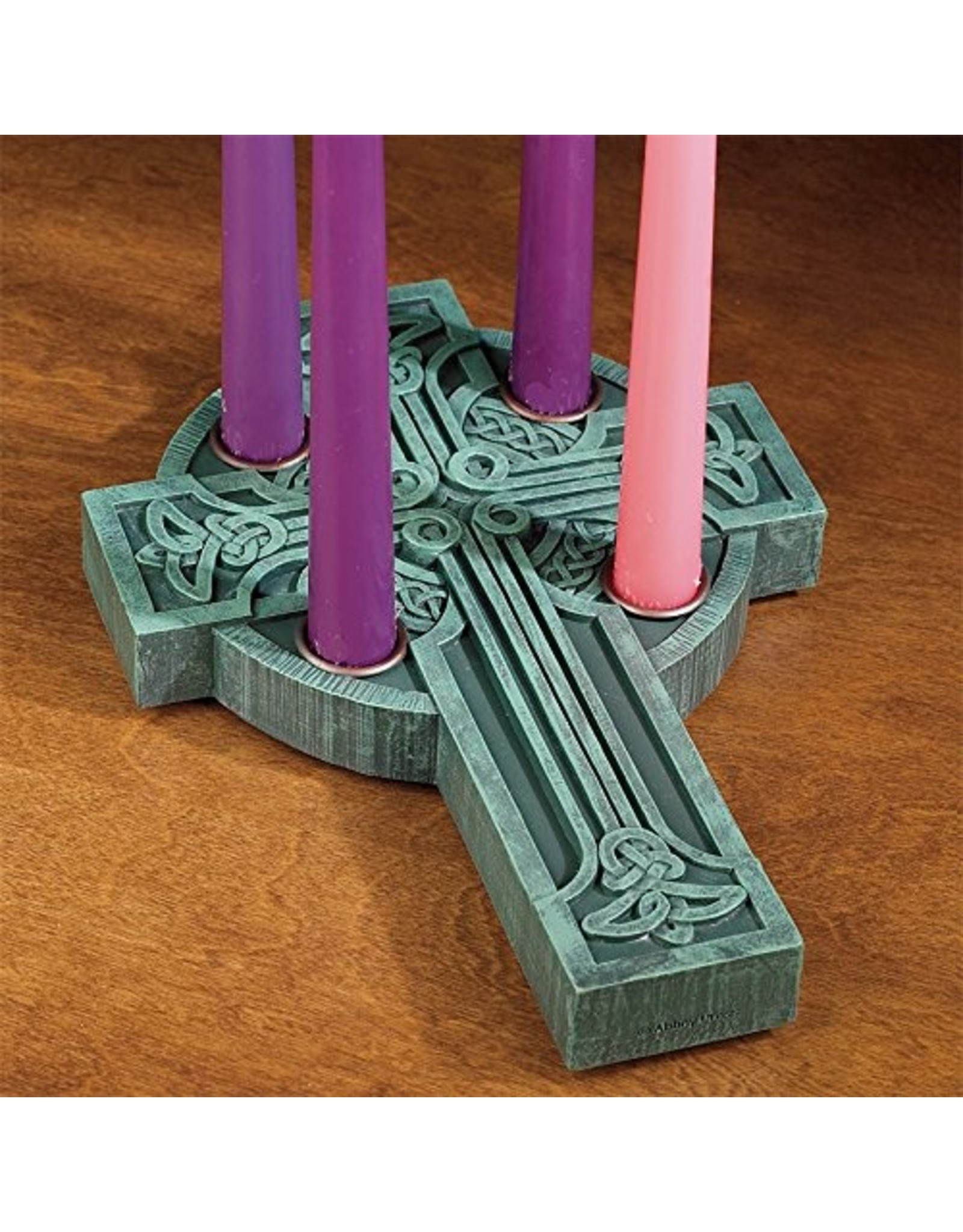 Advent Wreath (Candleholder) - Celtic Cross