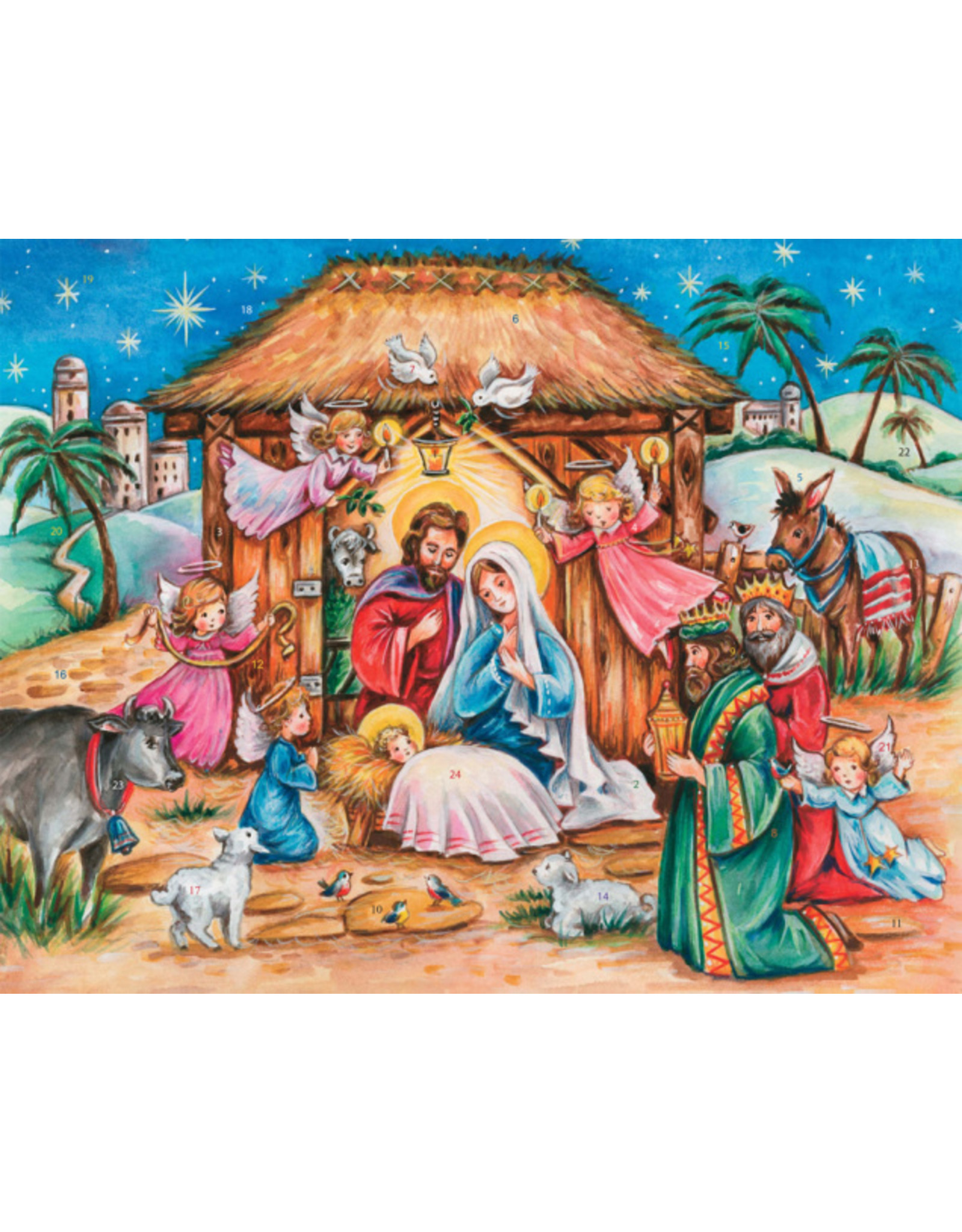 Large Advent Calendar - Heavenly Son
