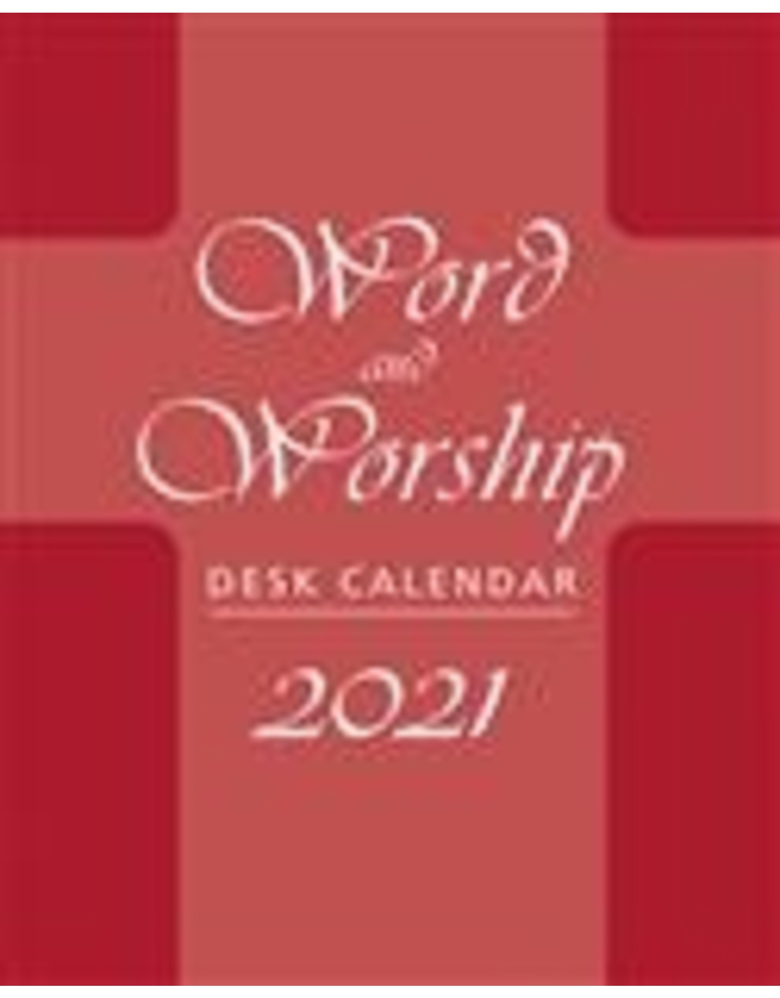 2021 CAL WORD & WORSH DESK