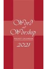 2021 Pocket Calendar - Word & Worship