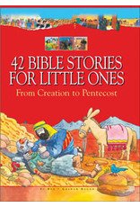 42 BIBLE STORIES FOR LITTLE ONES