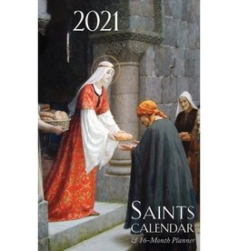 2021 Calendar/Planner Saints