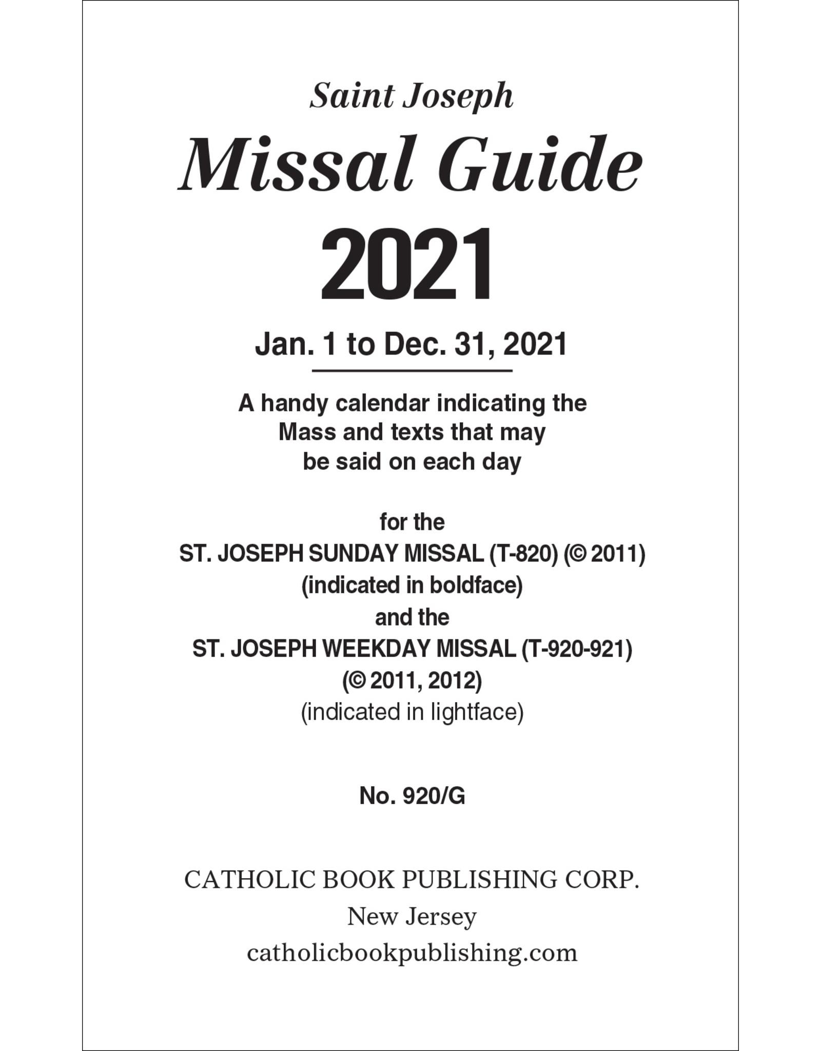 2021 GDE MISSAL 920/G