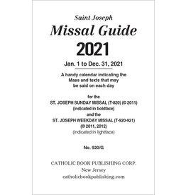 2021 Missal Guide 920/G
